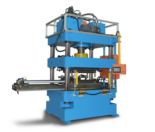 condenser header pipe punching machine